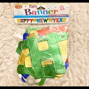 """Other - 🇺🇸 Brand New """"Happy New Year"""" 4.5ft Banner"""